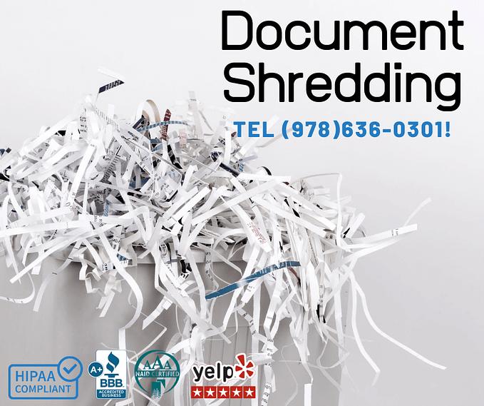 Best Document Shredding Boston
