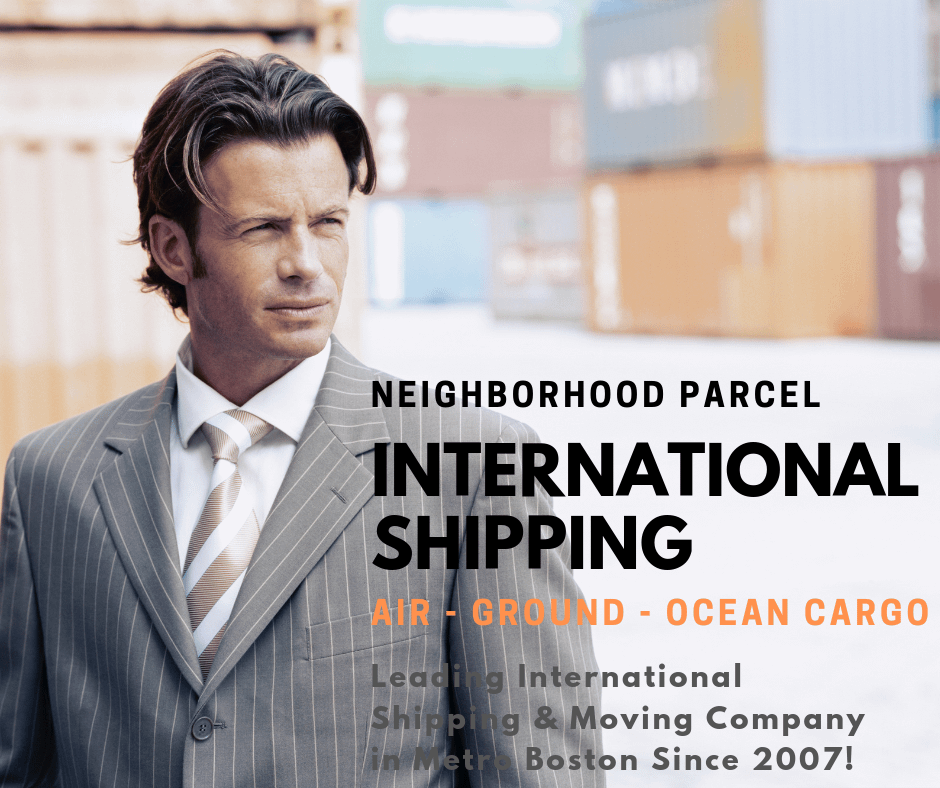 International shipping service Boston MA